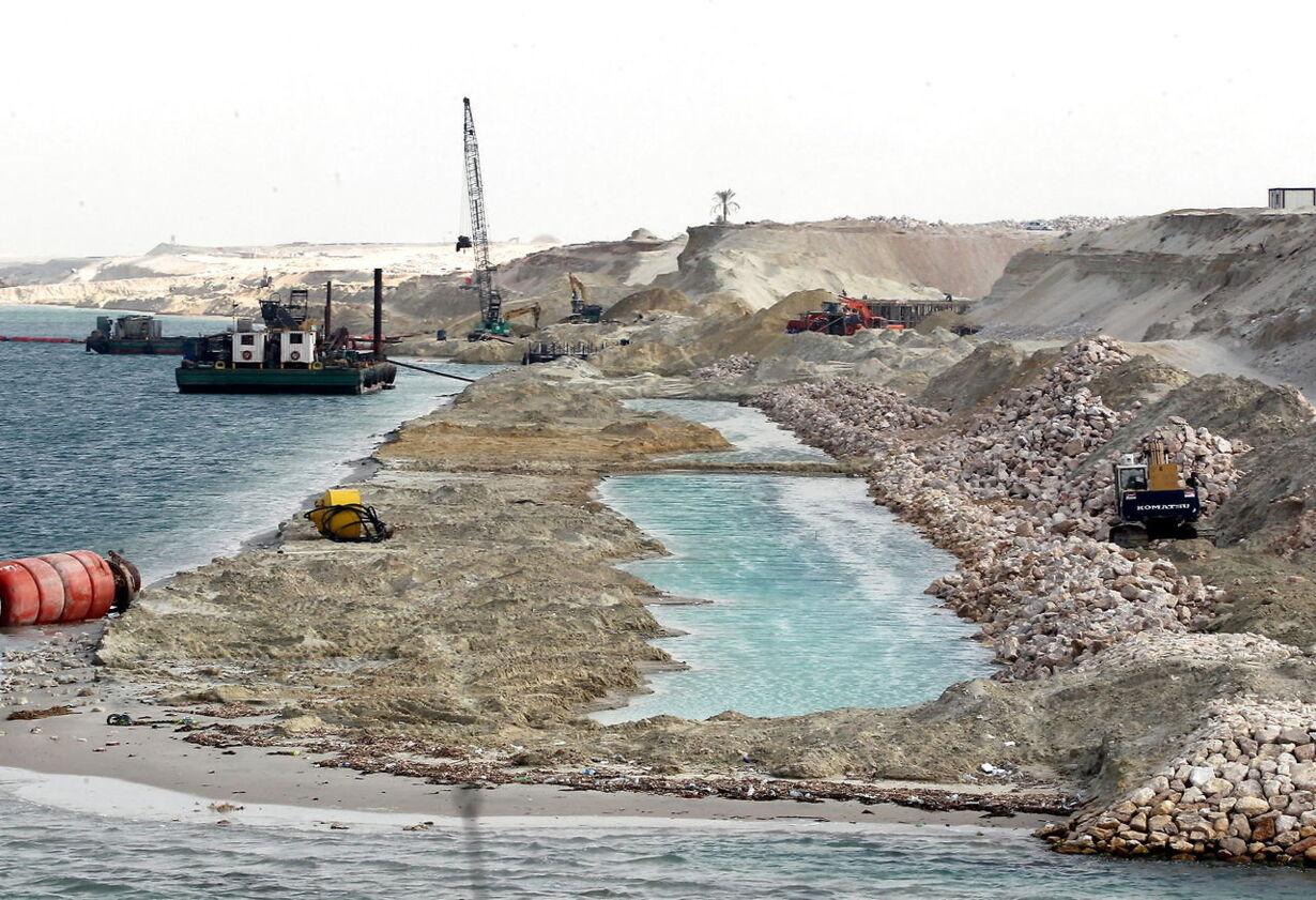 EGYPT TRANSPORT NEW SUEZ CANAL