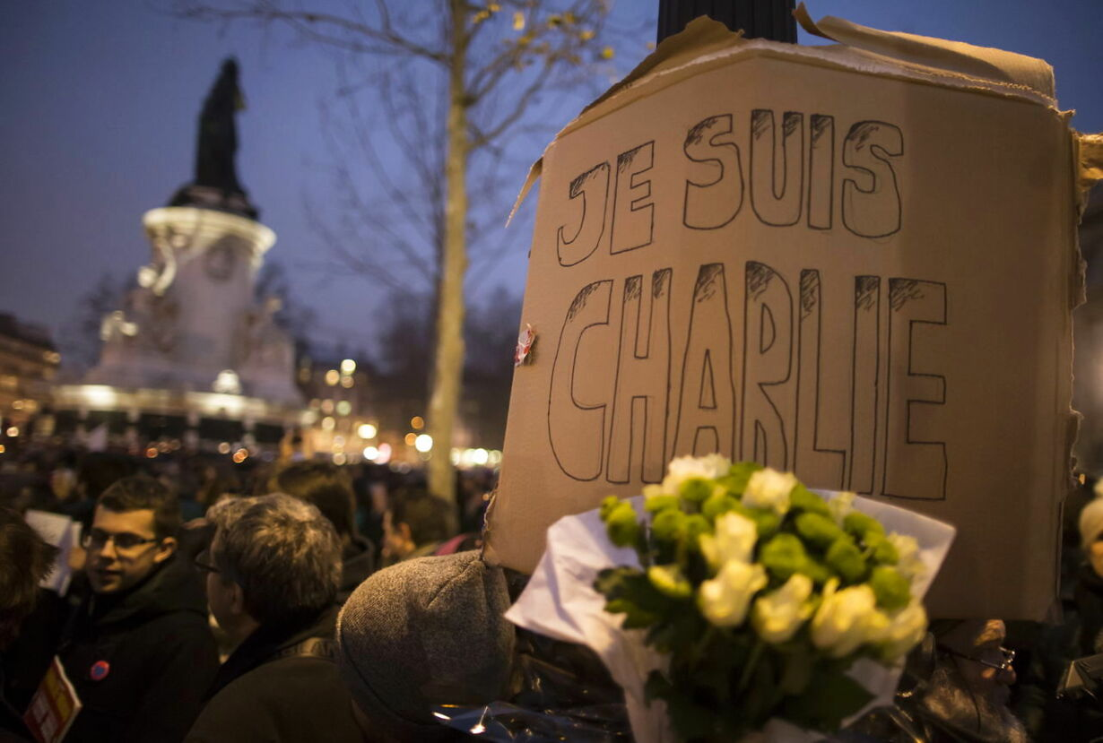 FRANCE PARIS CHARLIE HEBDO ATTACK