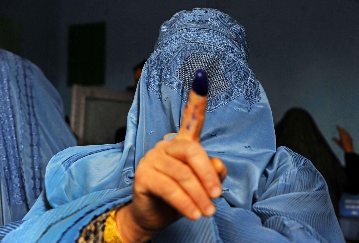 TOPSHOTS-AFGHANISTAN-ELECTION-UNREST
