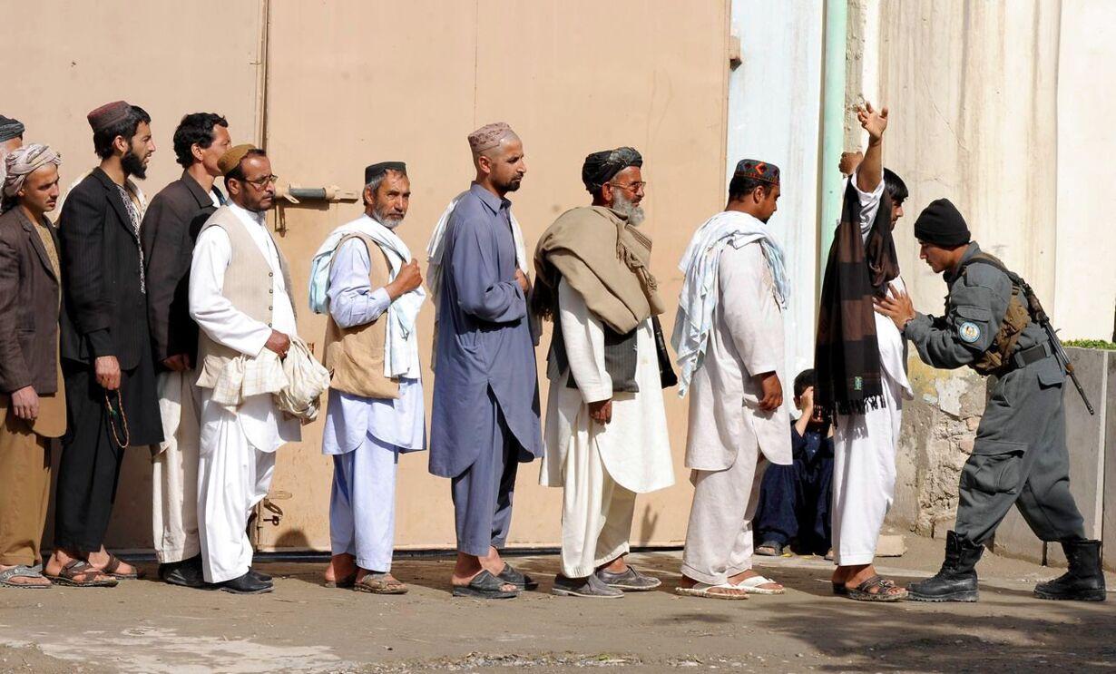 TOPSHOTS-AFGHANISTAN-VOTE
