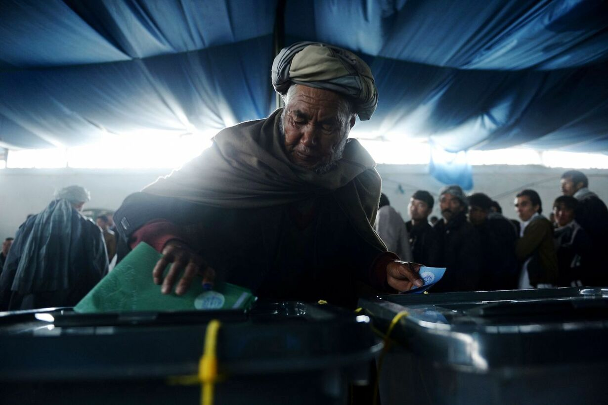 TOPSHOTS-AFGHANISTAN-ELECTION