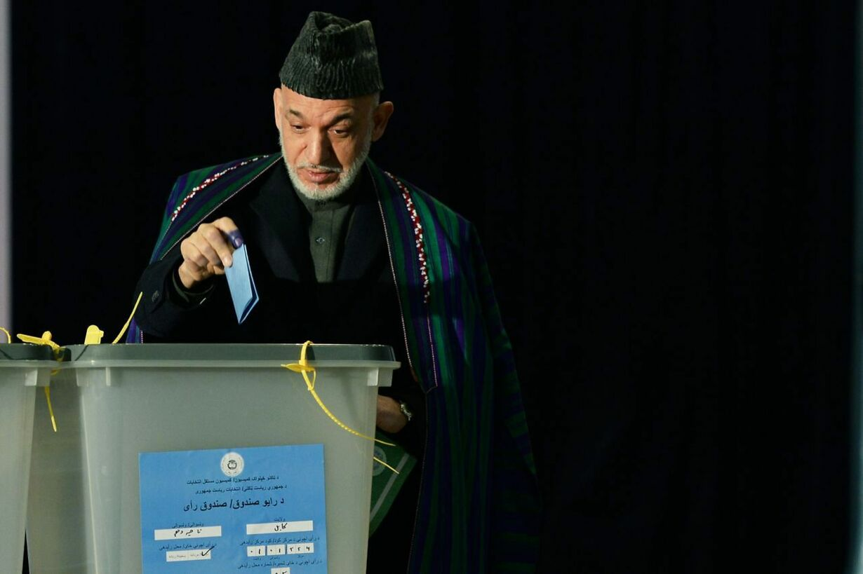 TOPSHOTS-AFGHANISTAN-ELECTION-KARZAI