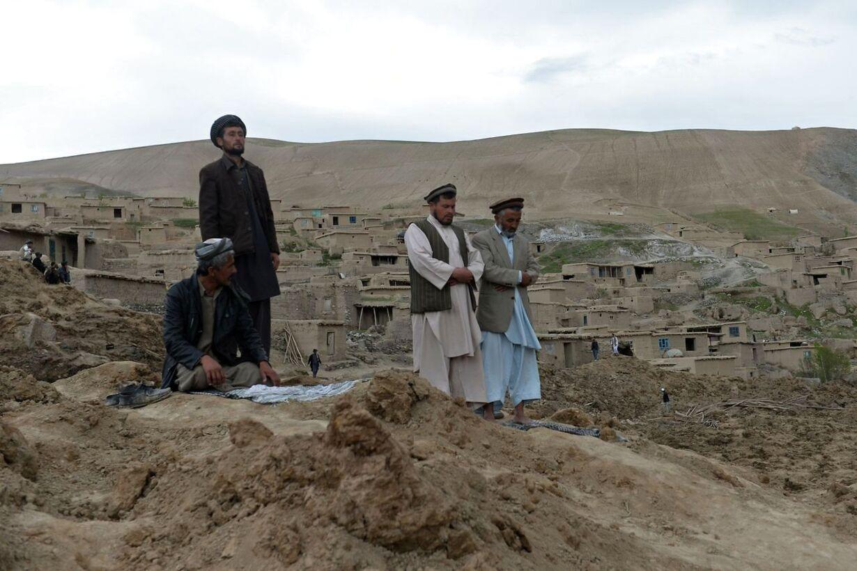 AFGHANISTAN-LANDSLIDE/