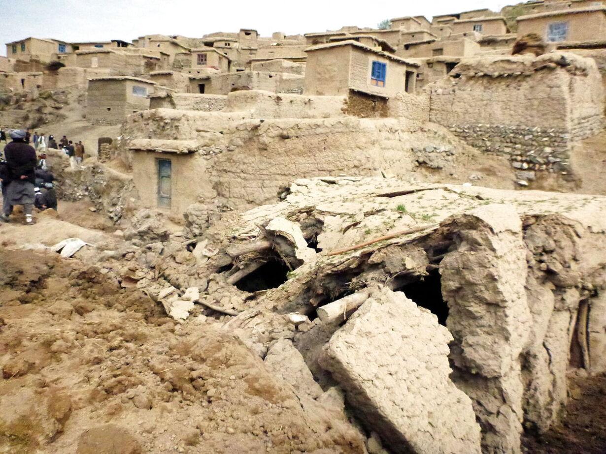 AFGHANISTAN LANDSLIDE AFTERMATH