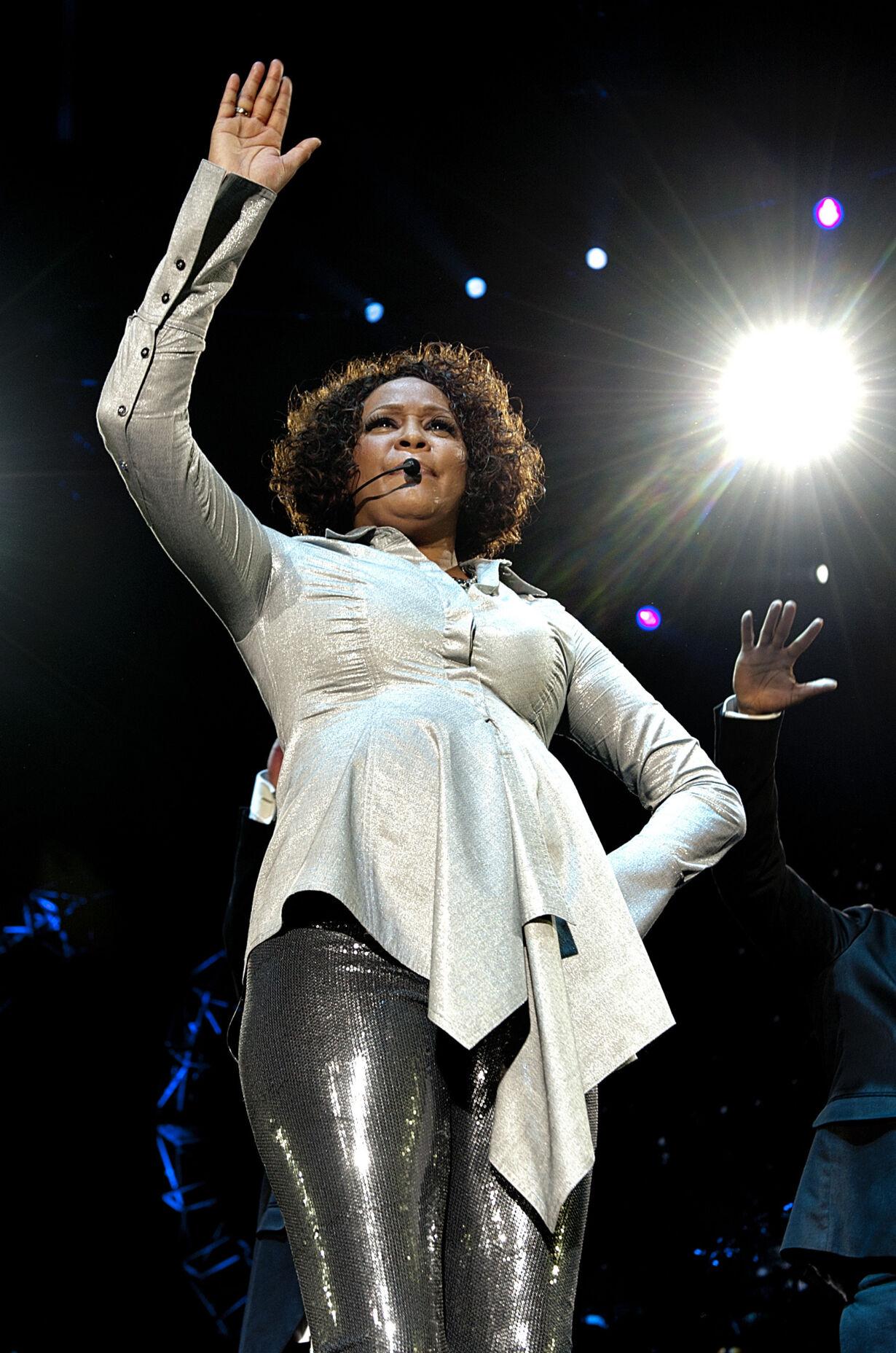 Whitney Houston-koncert i Forum
