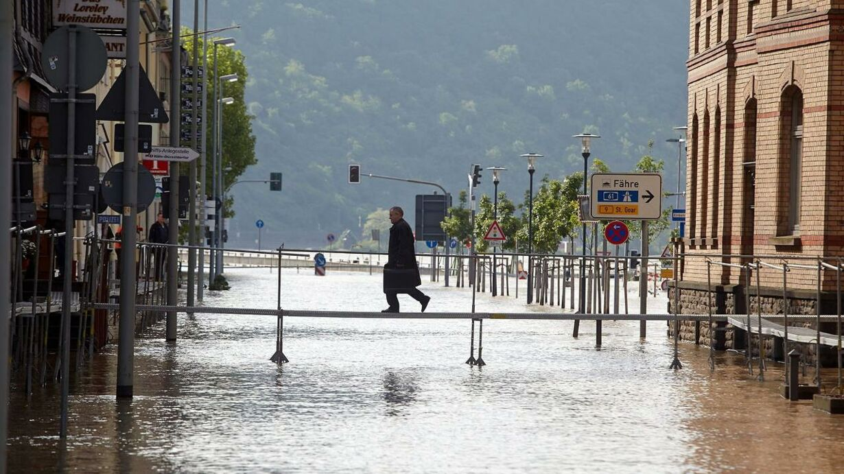 GERMAN WEATHER FLOODS