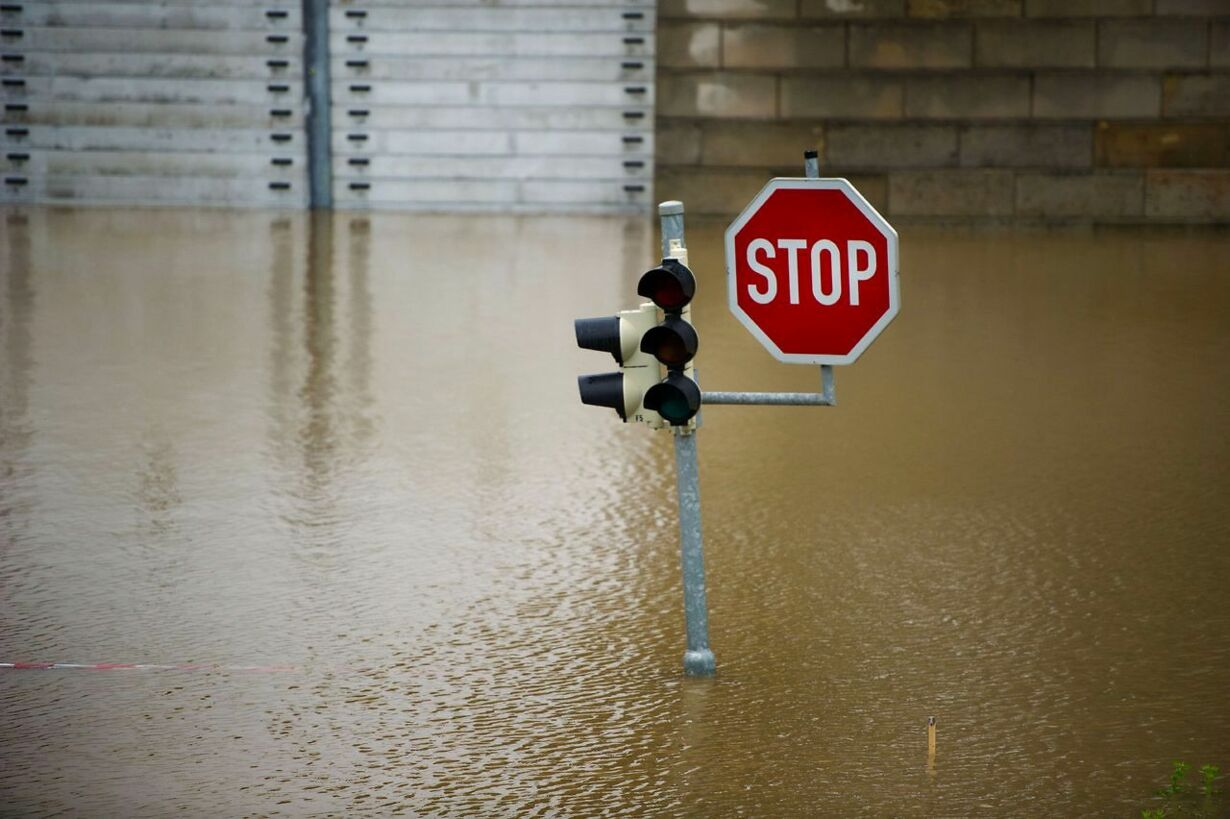 TOPSHOTS-GERMANY-WEATHER-FLOODS