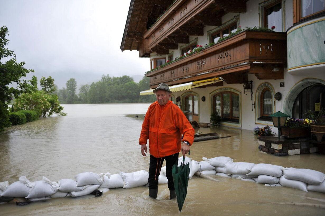 AUSTRIA WEATHER FLOODING