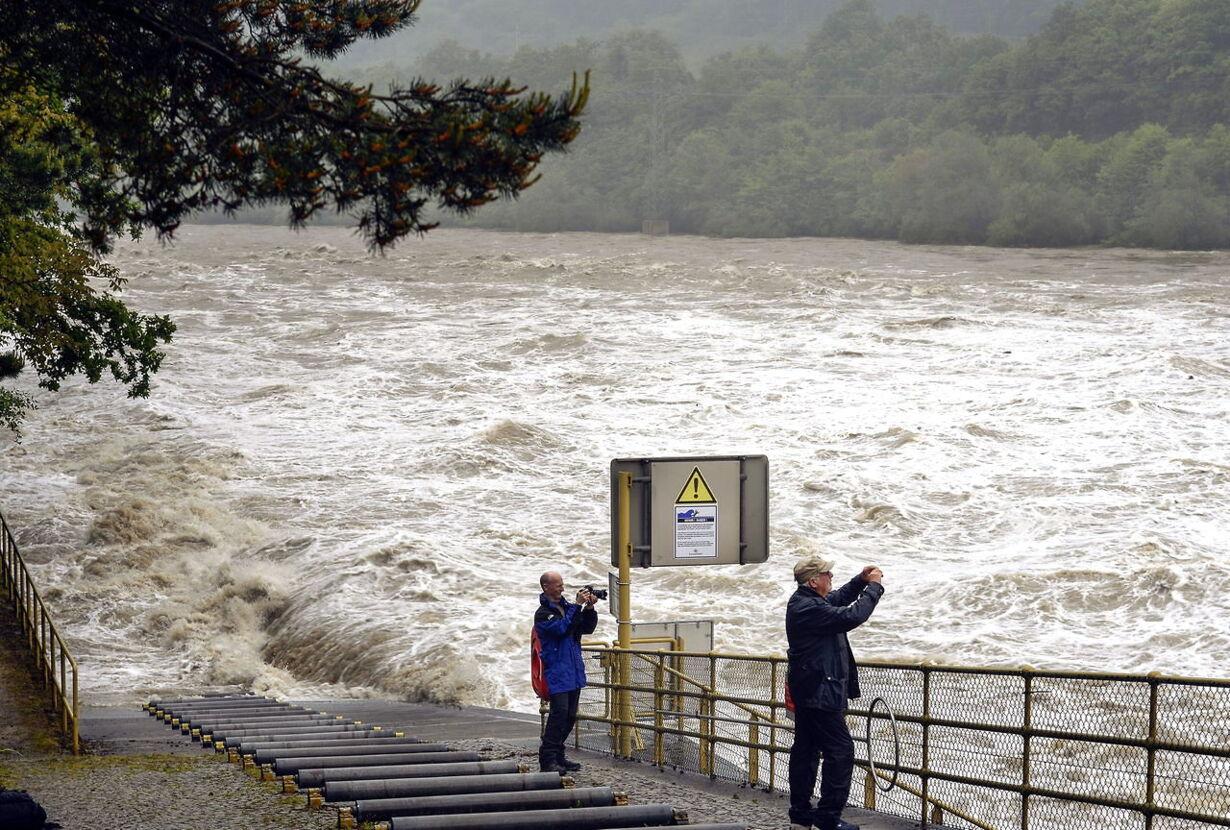 SWITZERLAND WEATHER FLOODS