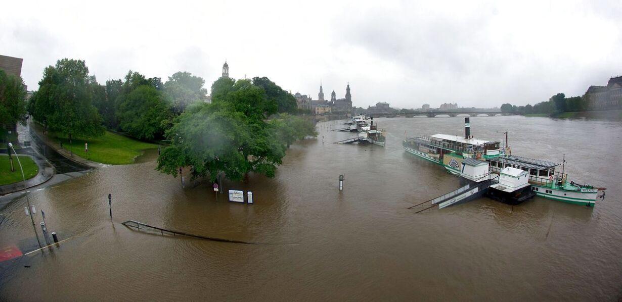 GERMANY-WEATHER-FLOOD
