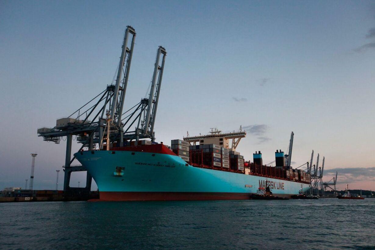Mærsk McKinney Møller containerskib