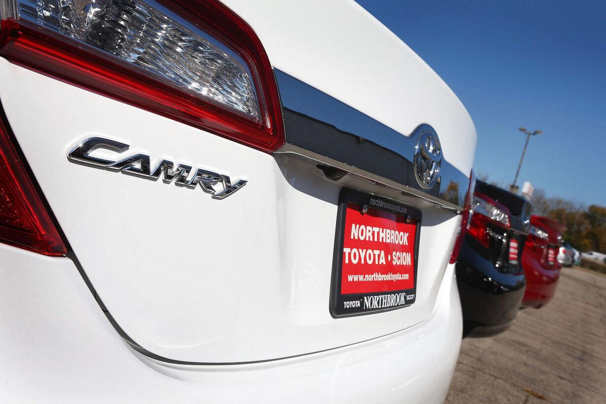 7. Toyota Camry: 705.000