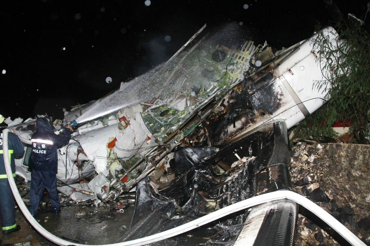 TAIWAN-AVIATION-ACCIDENT