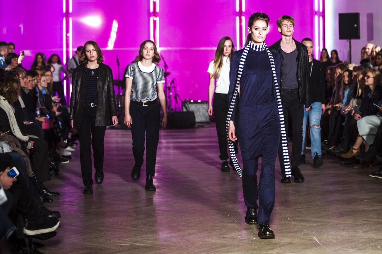 Mads Nørgaard modeshow på Charlottenborg