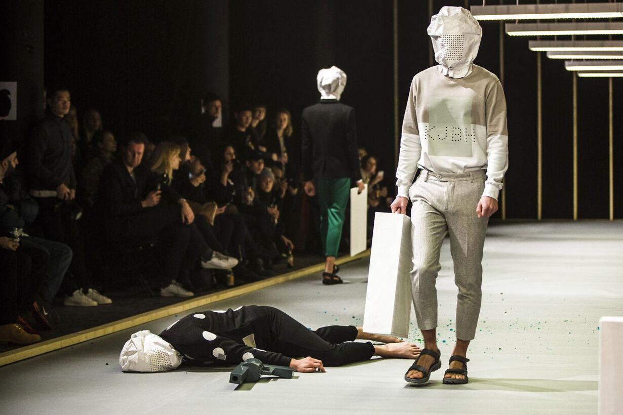 Han Kjøbenhavn modeshow i Dansehallerne