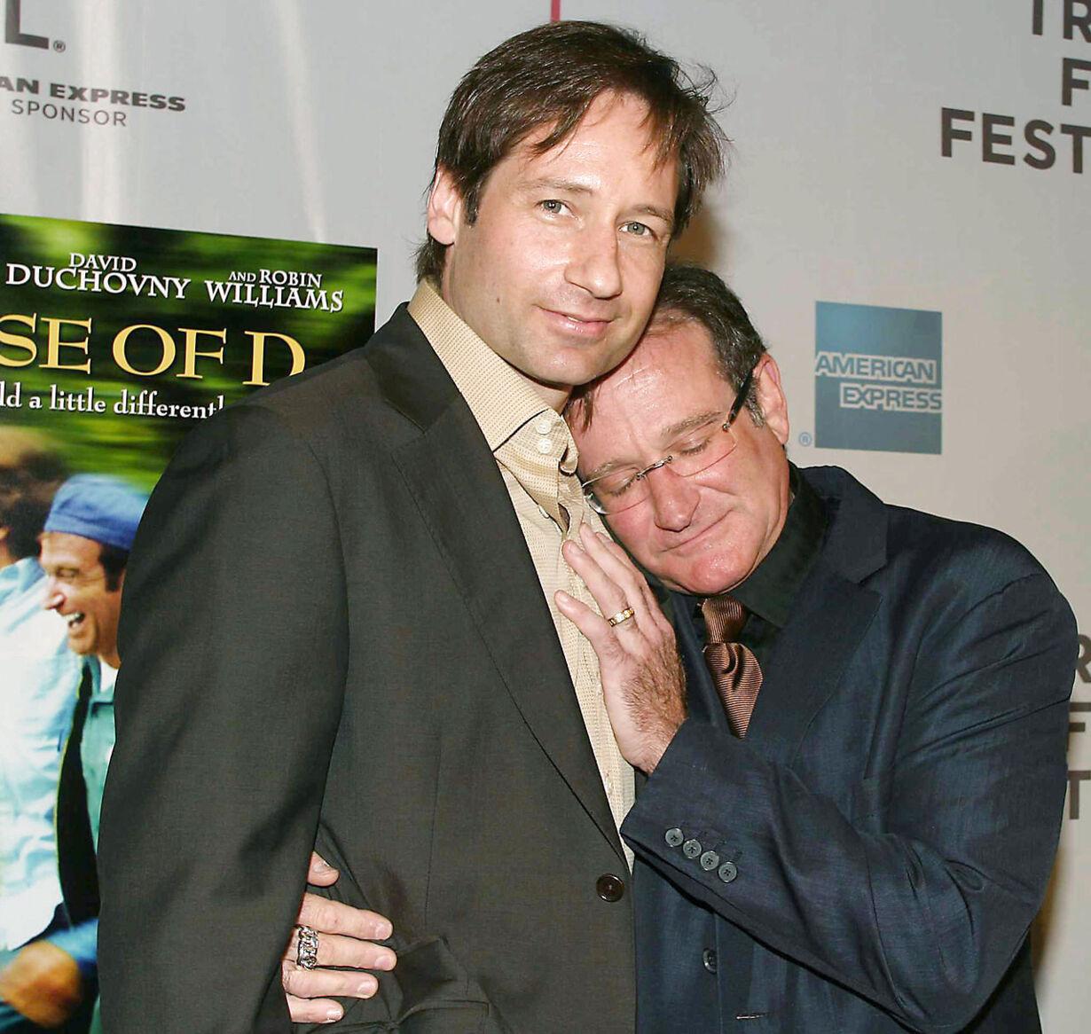Williams og Duchovny
