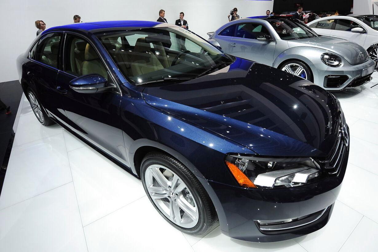 1. Erhverv - Volkswagen Passat