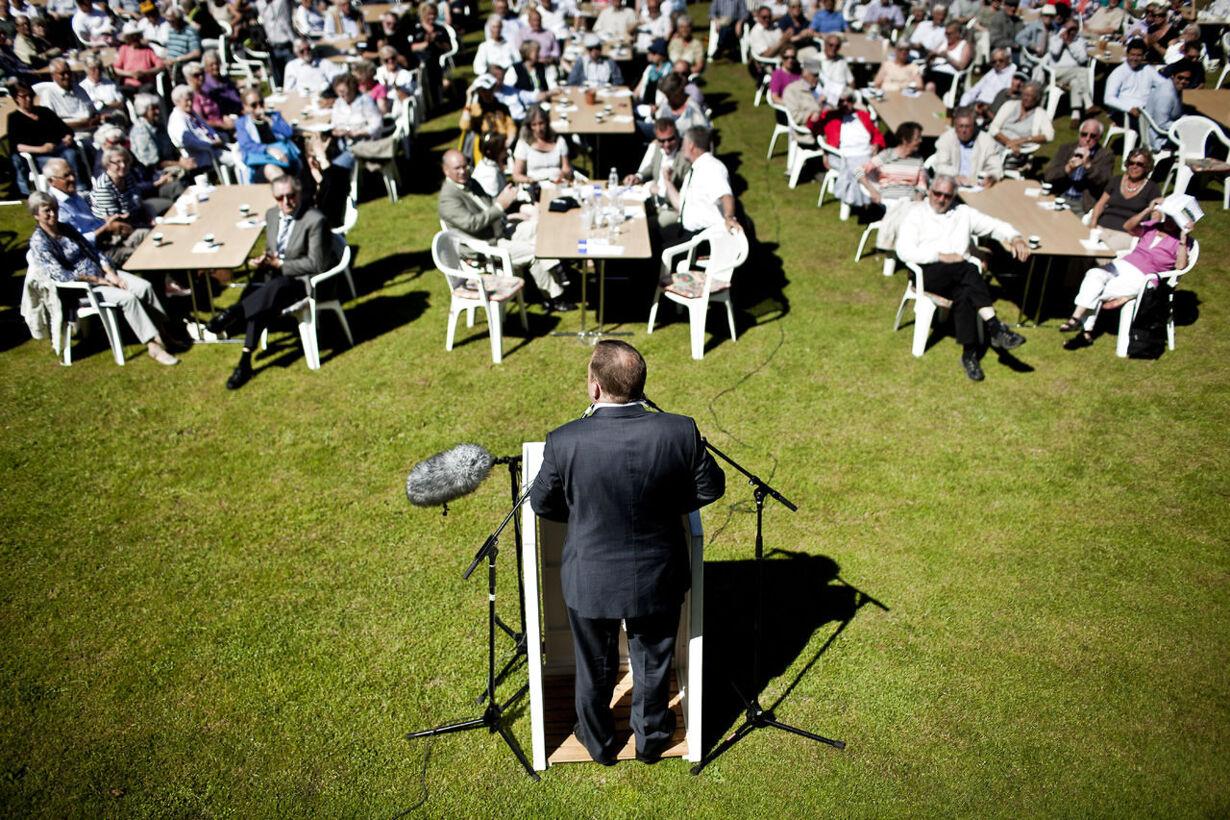 Lars Løkke Rasmussen holder grundlovstale