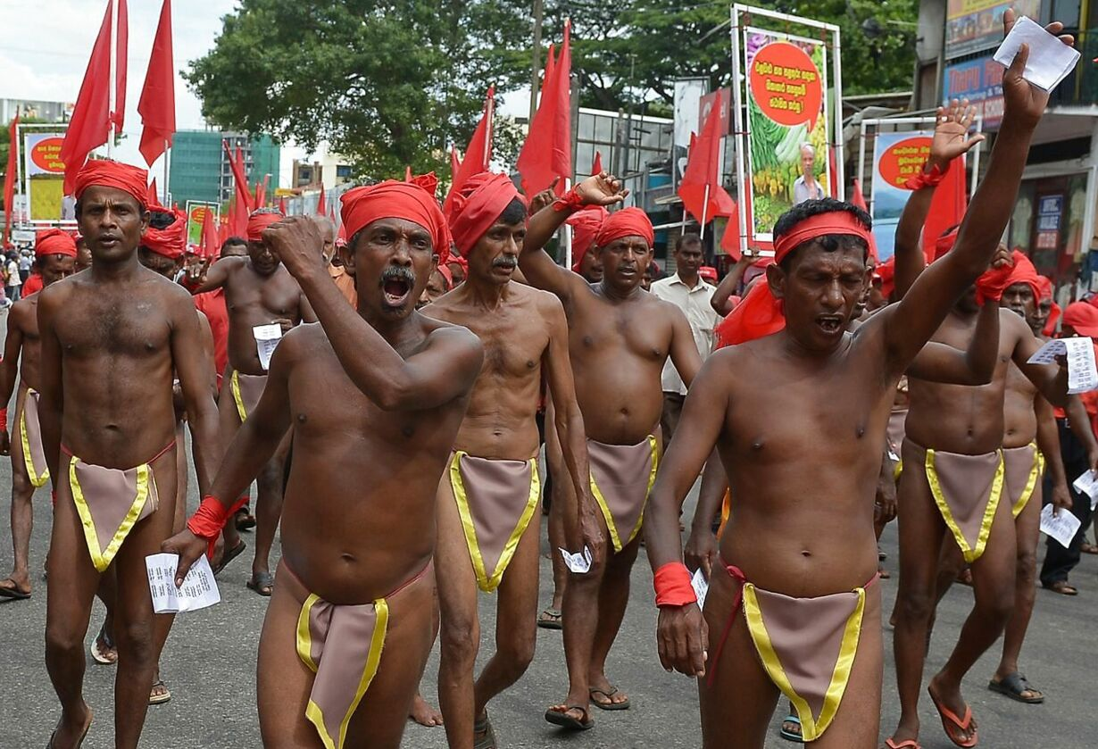 SRI LANKA-LABOUR-MAY DAY