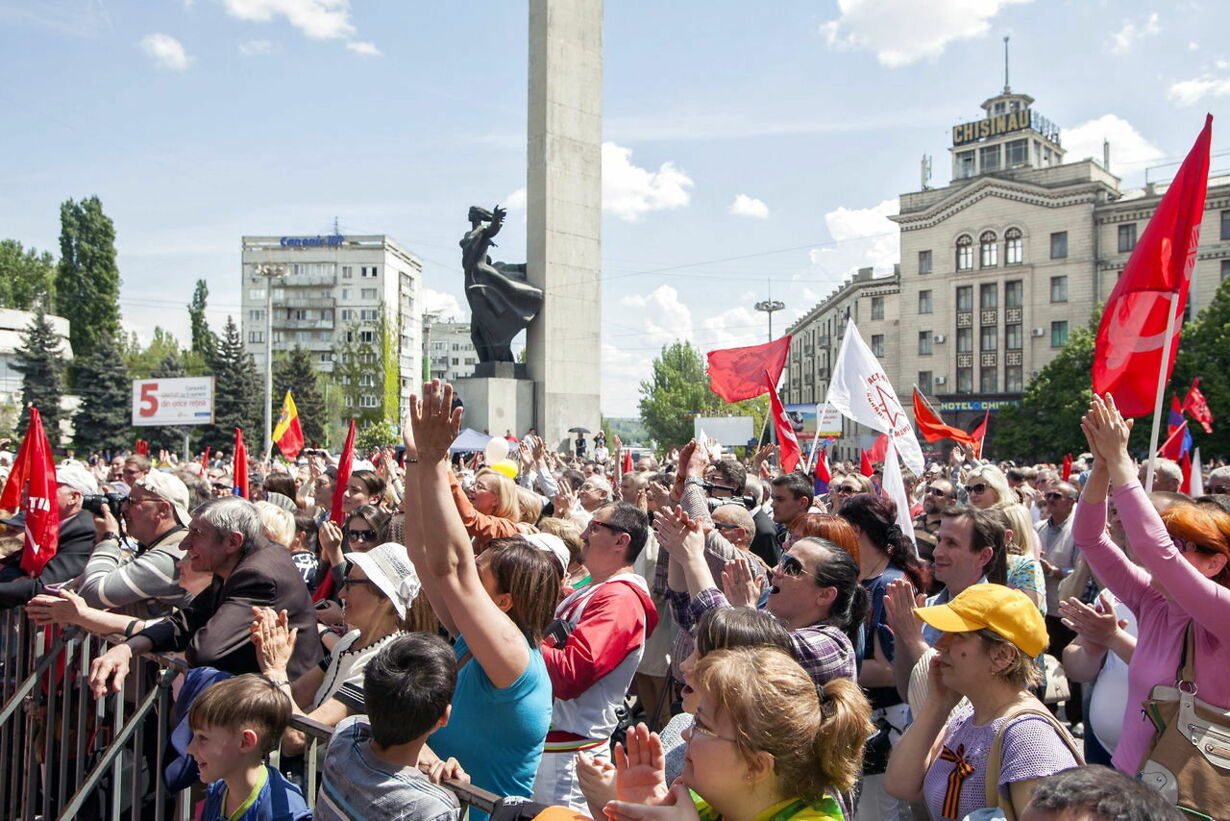 MOLDOVA MAY DAY
