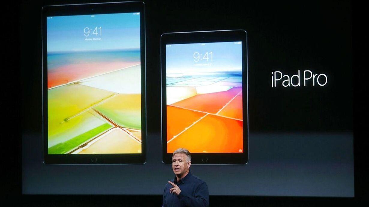 iPad lys