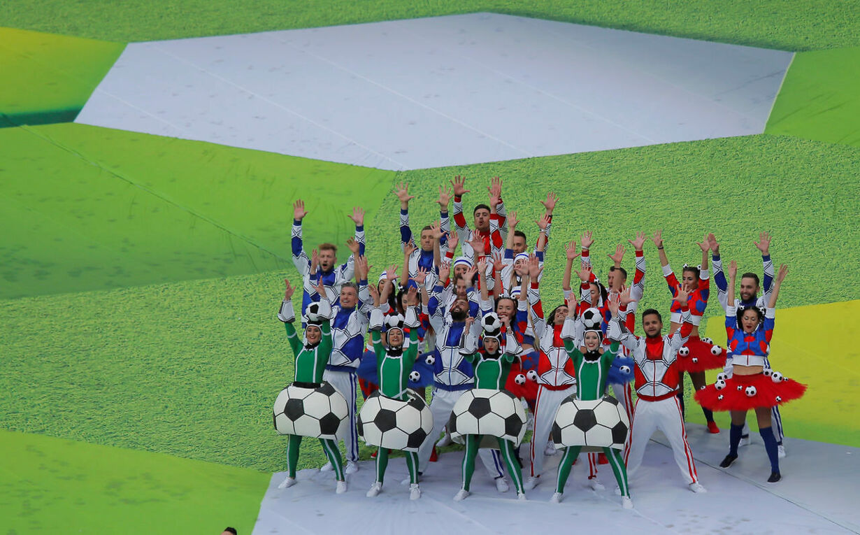 SOCCER-WORLDCUP-RUS-SAU/OPENING-CEREMONY