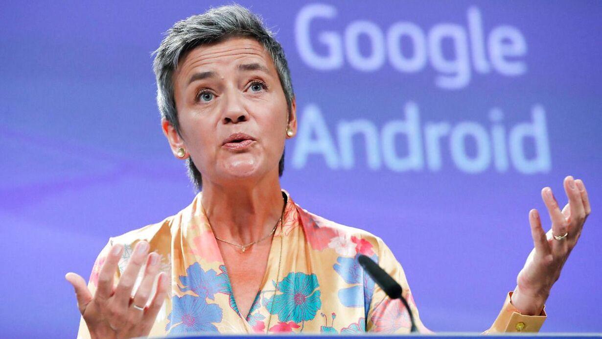 Onsdag - bøde til Google