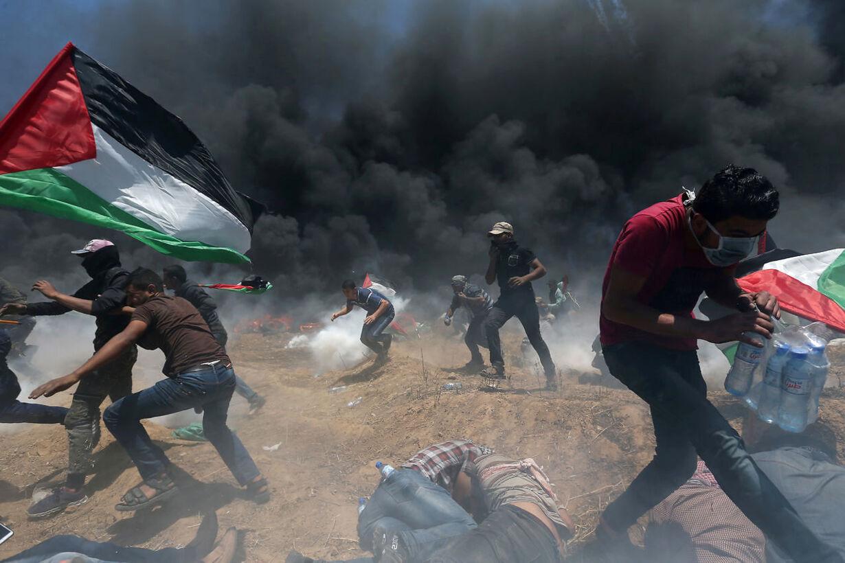 ISRAEL-USA/PROTESTS-PALESTINIANS