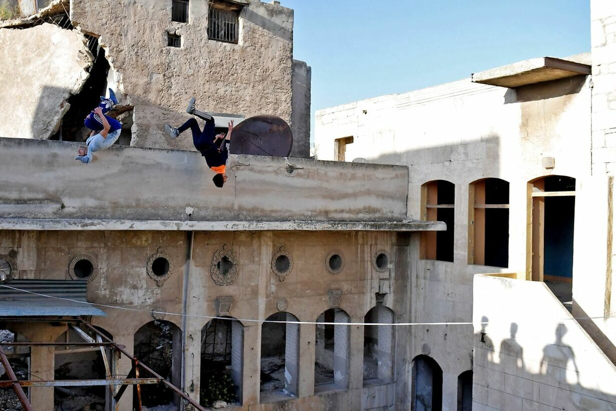Syrien parkour