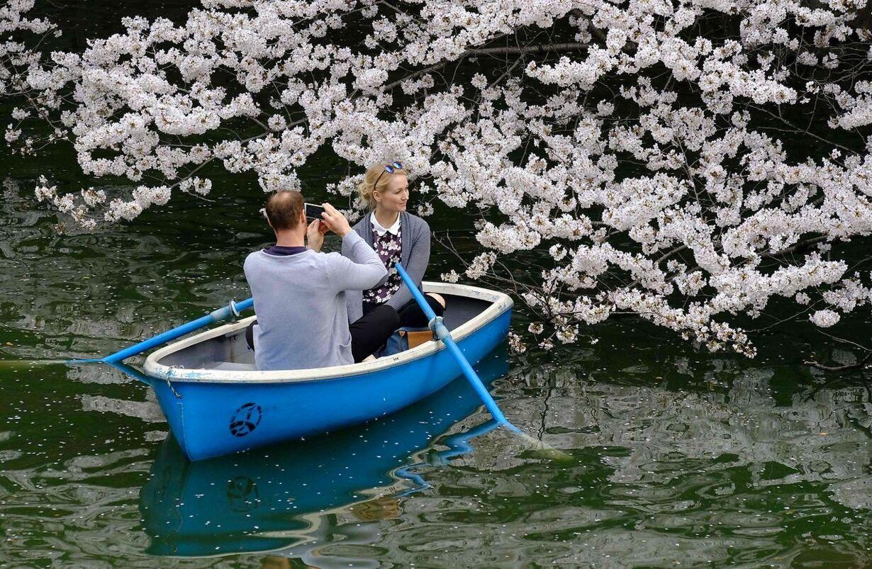 JAPAN-WEATHER-LIFESTYLE