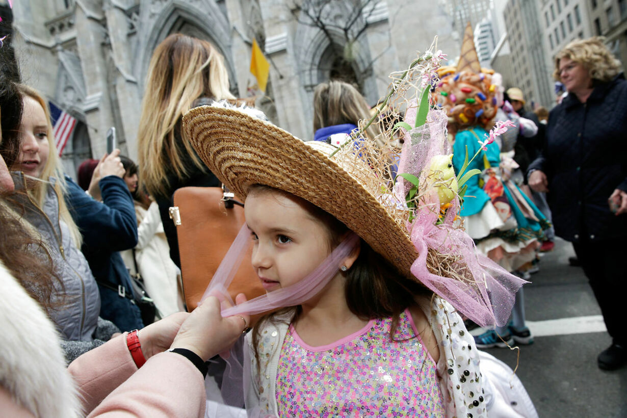 EASTER-RELIGION/NEW YORK-PARADE