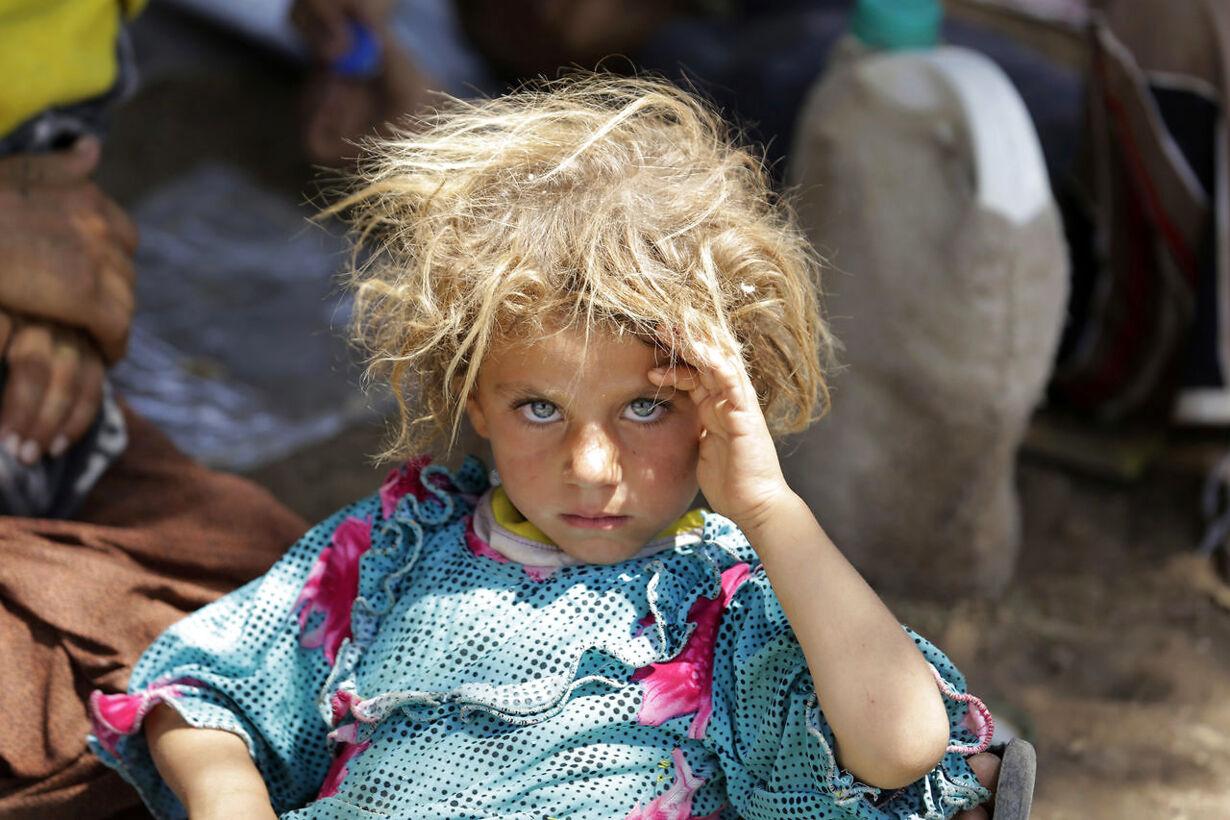 jeve IRAQ-SECURITY/YAZIDIS-MOUNTAIN