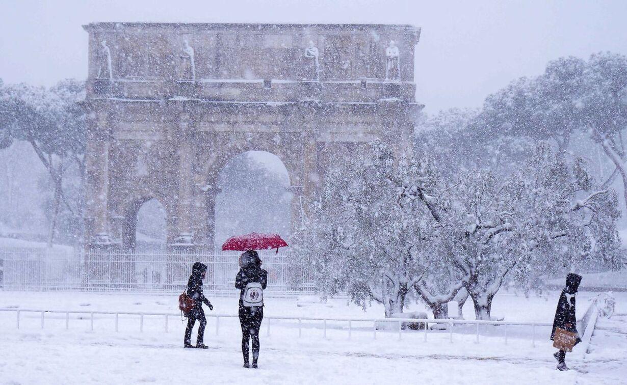 sne i Rom