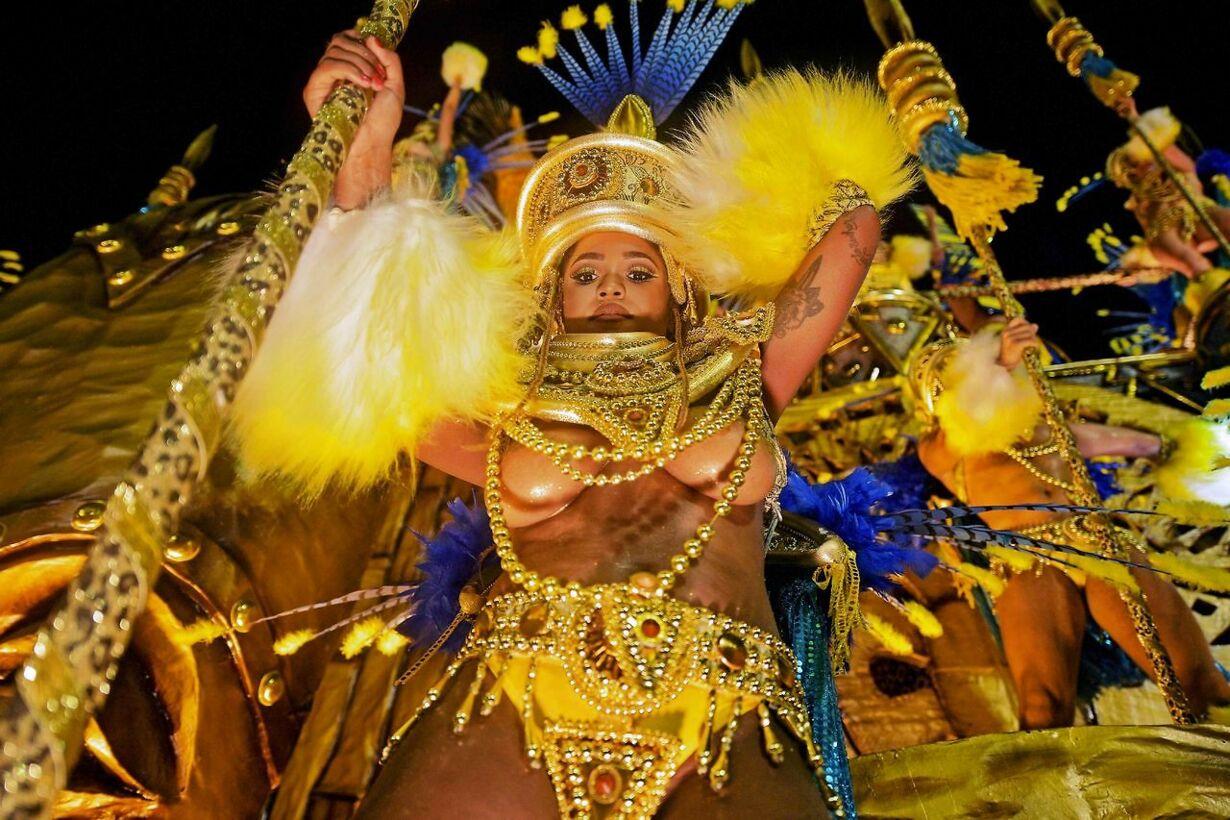BRAZIL-RIO-CARNIVAL-PARAISO DO TUIUTI