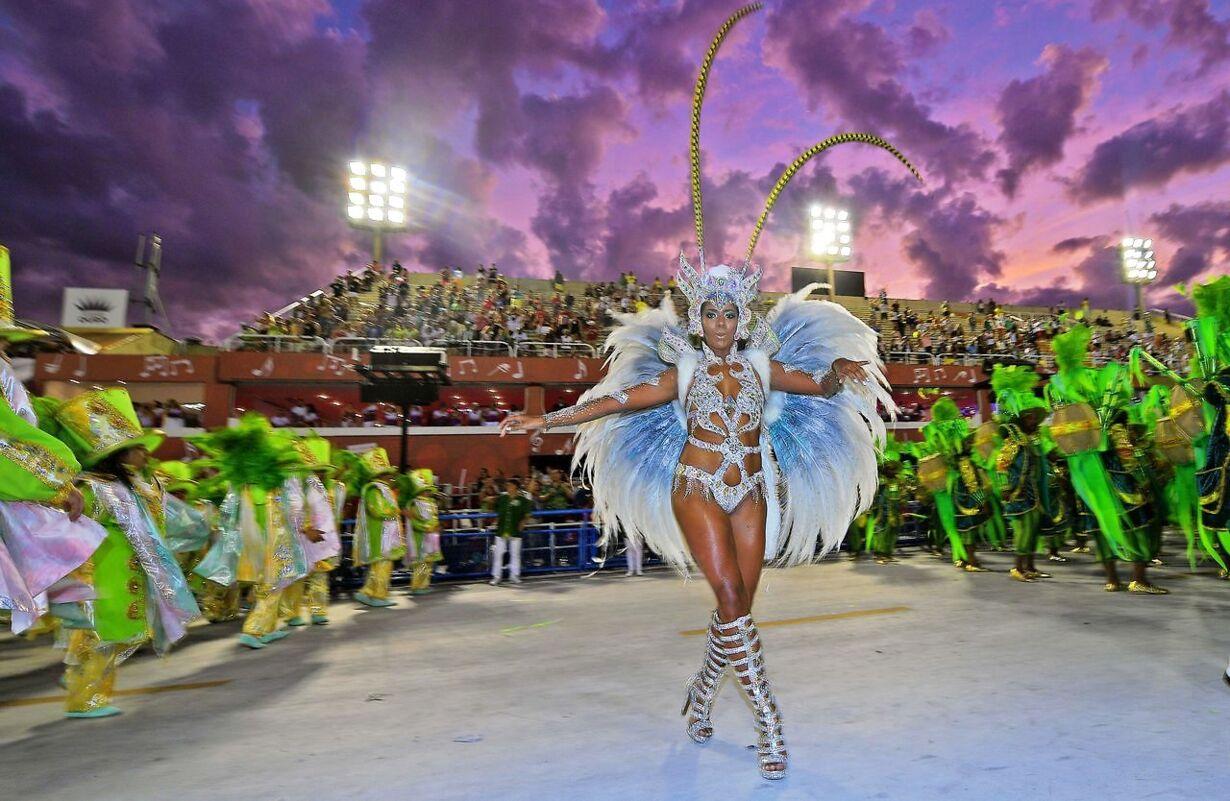 BRAZIL-RIO-CARNIVAL-MOCIDADE