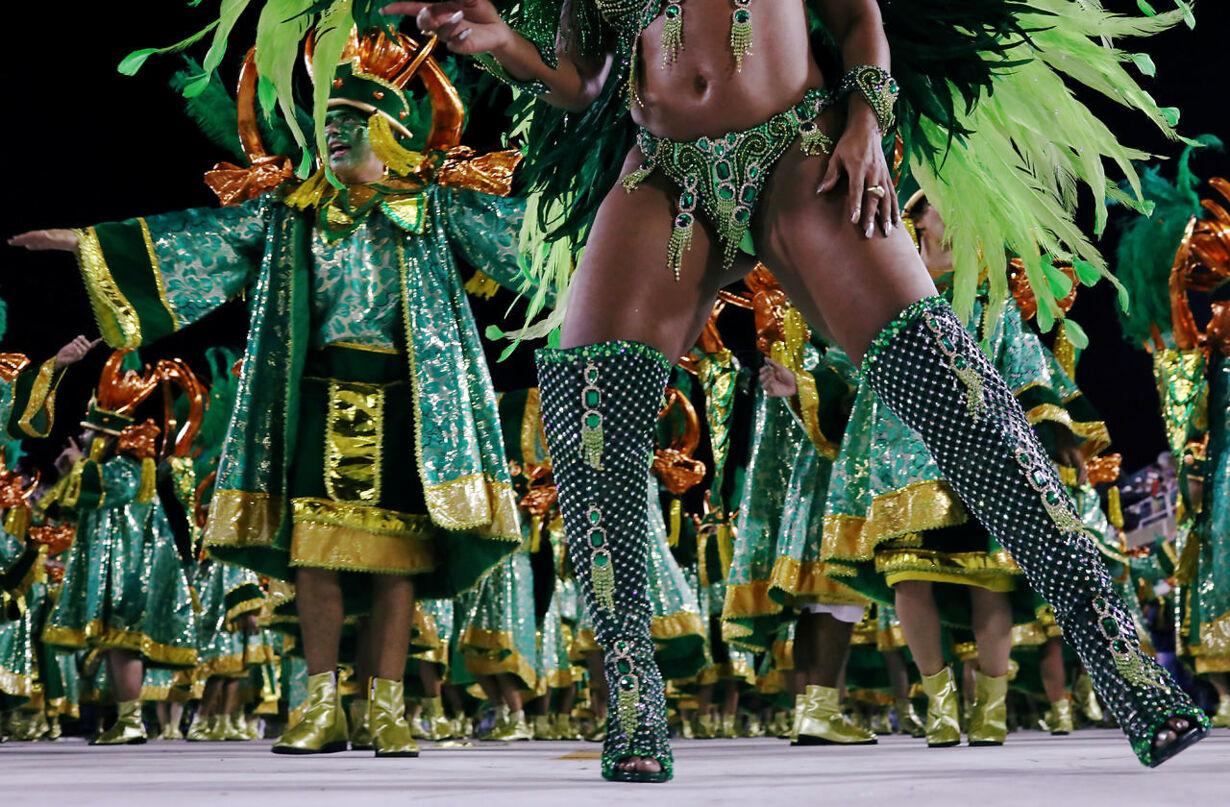 BRAZIL-CARNIVAL/SAMBADROME
