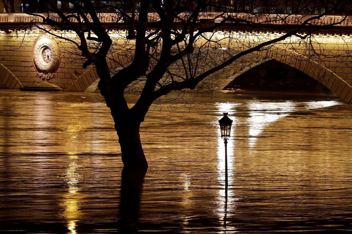 TOPSHOT-FRANCE-PARIS-SEINE-FLOOD
