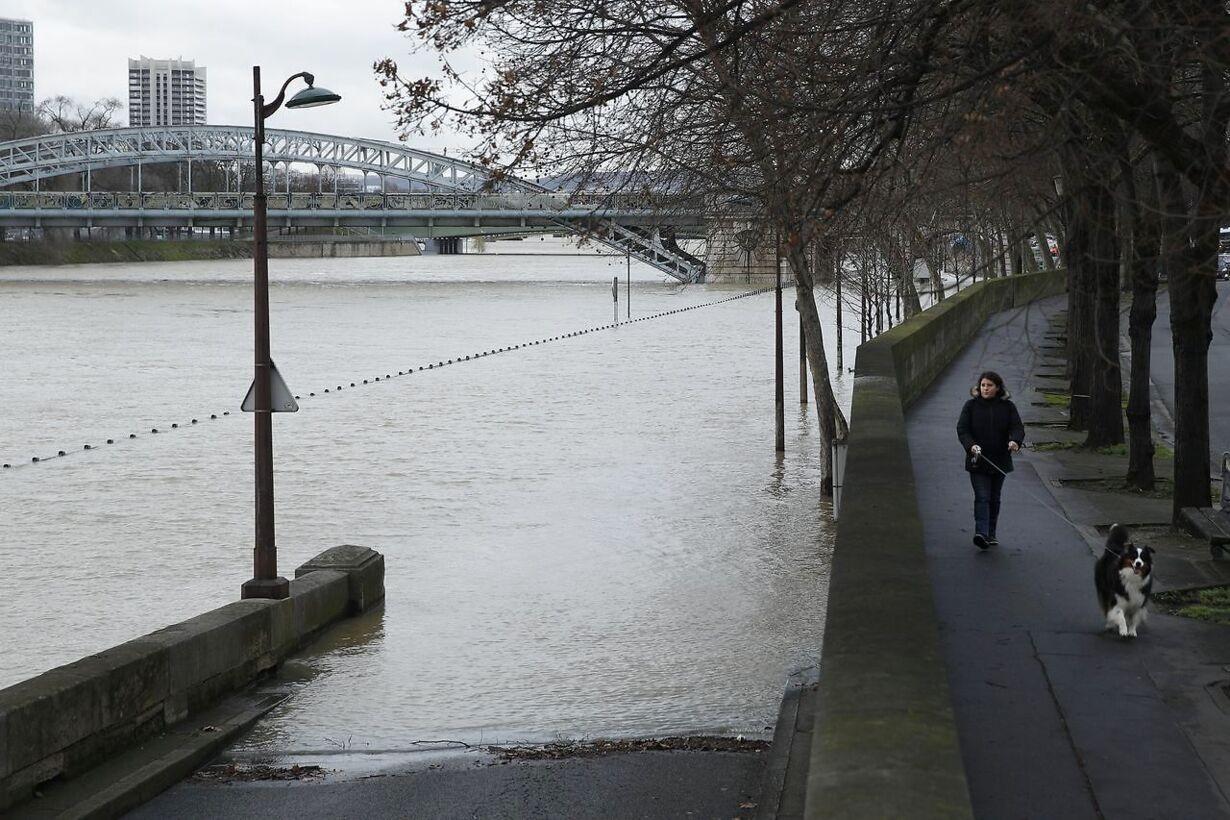 FRANCE PARIS FLOOD