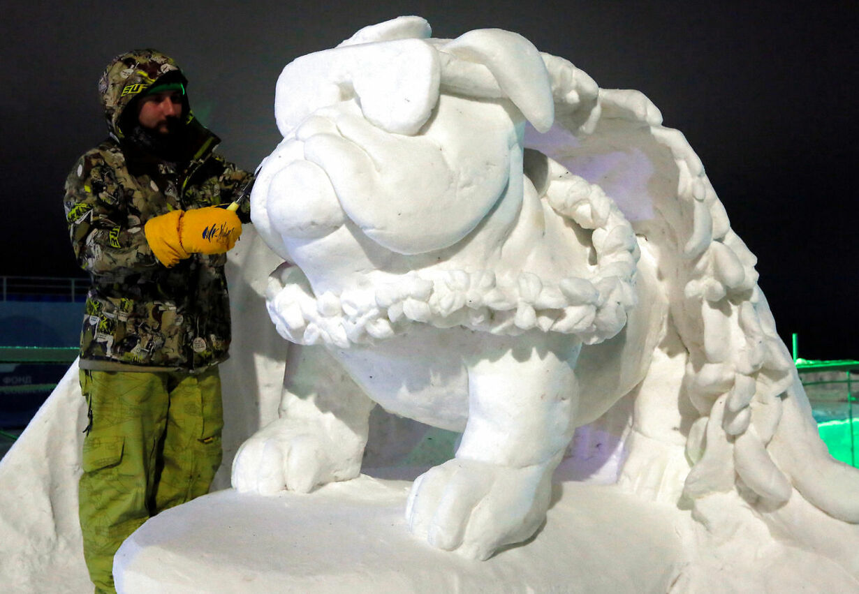 Isskulpturfestival RUSSIA-ART/
