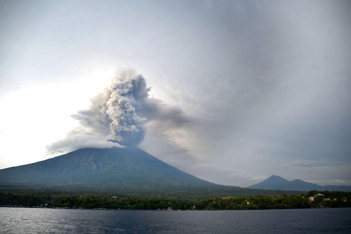 INDONESIA-BALI-VOLCANO