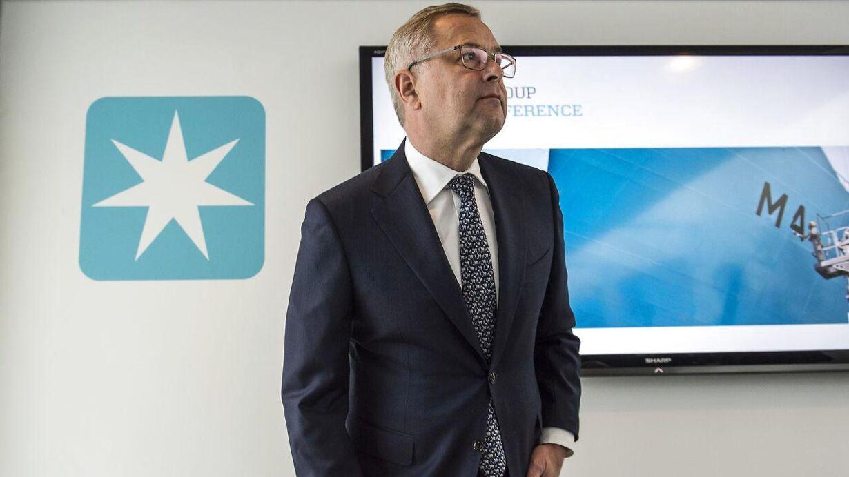 Mærsk/CEO: Ikke tilfredsstillende resultat