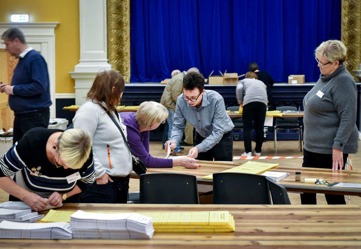 Der stemmes til kommunal- og regionrådsvalget 2017 i Randers