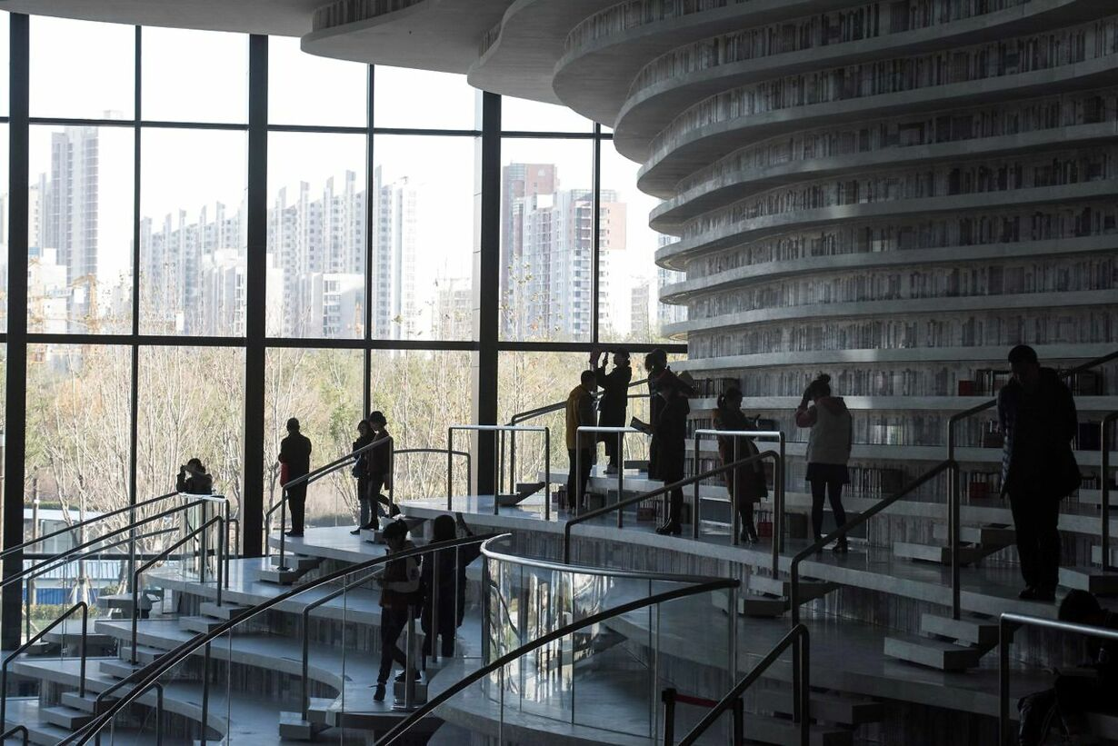 CHINA-LIBRARY-ARCHITECTURE