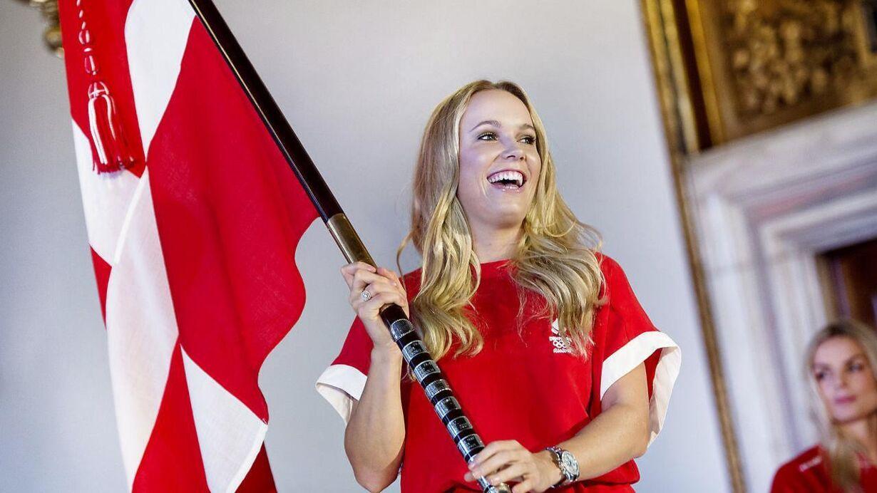 Fredag - Caroline Wozniacki er klar til OL Danmarks OL-fanebærer præsen