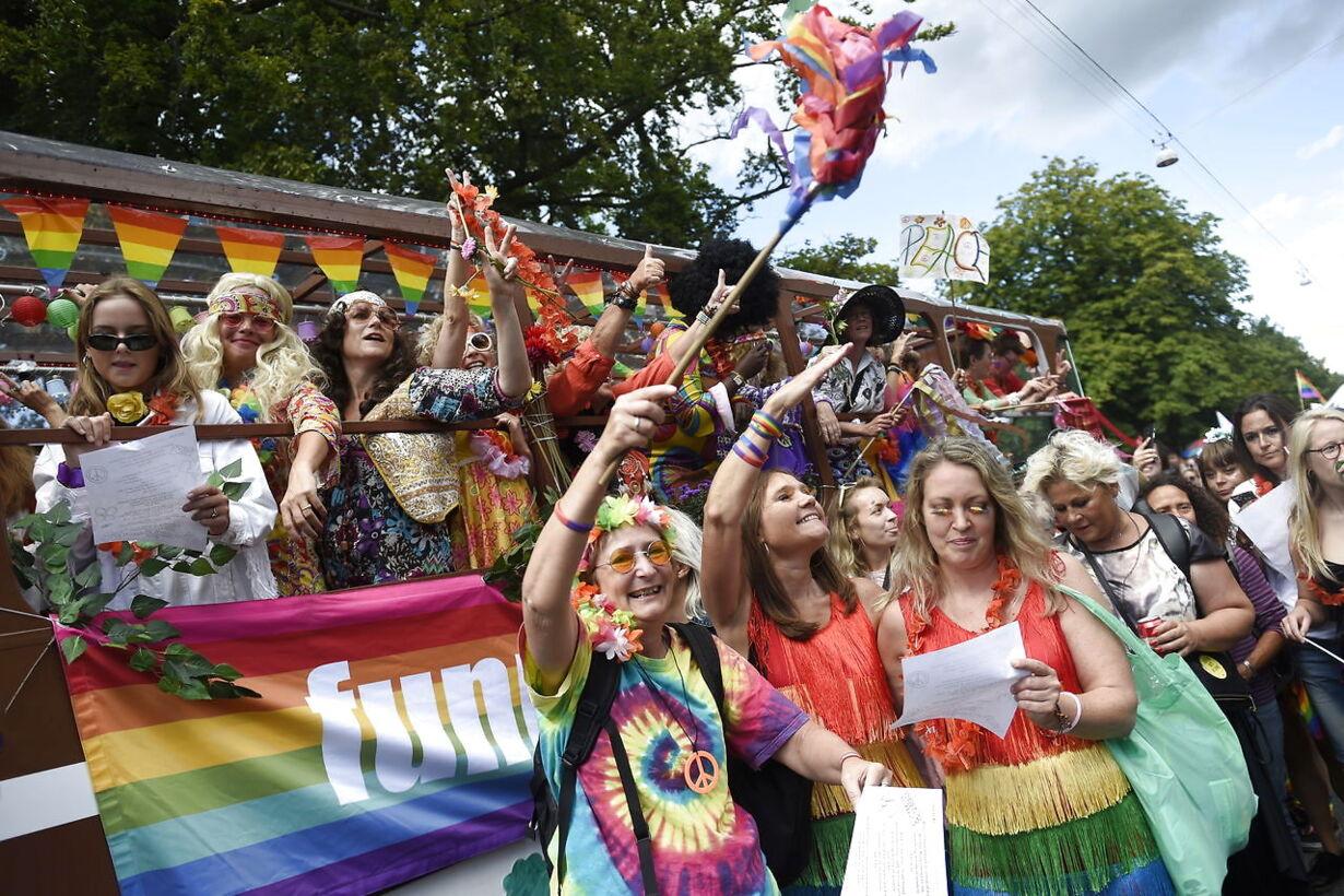 Copenhagen pride parade