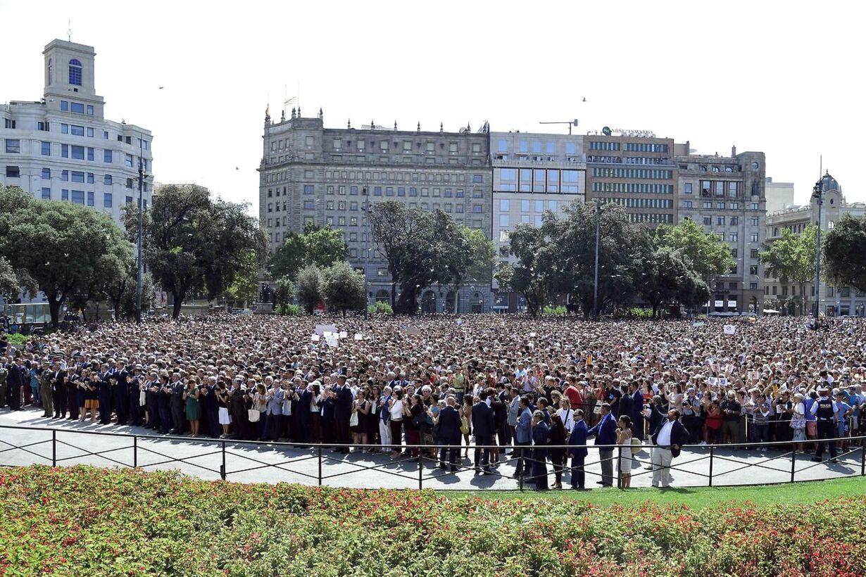 La Rambla ofrene mindes i Spanien