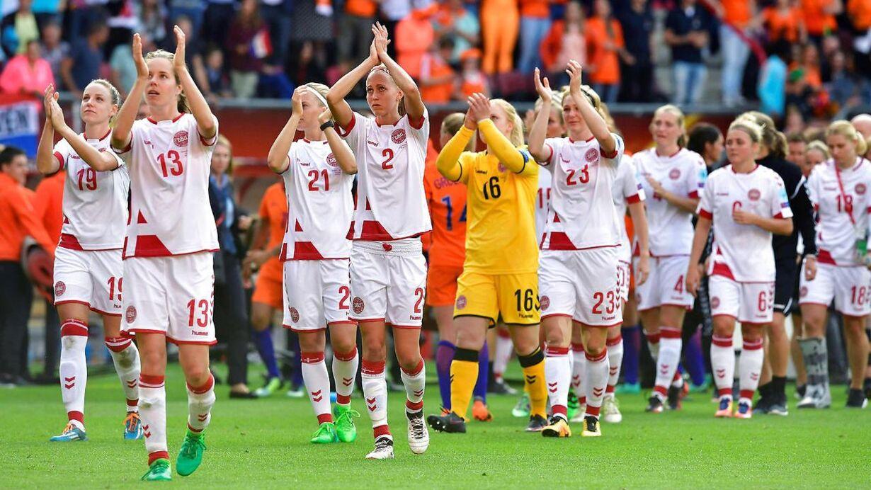 Tak for kampen! Se billeder fra en historisk EM finale