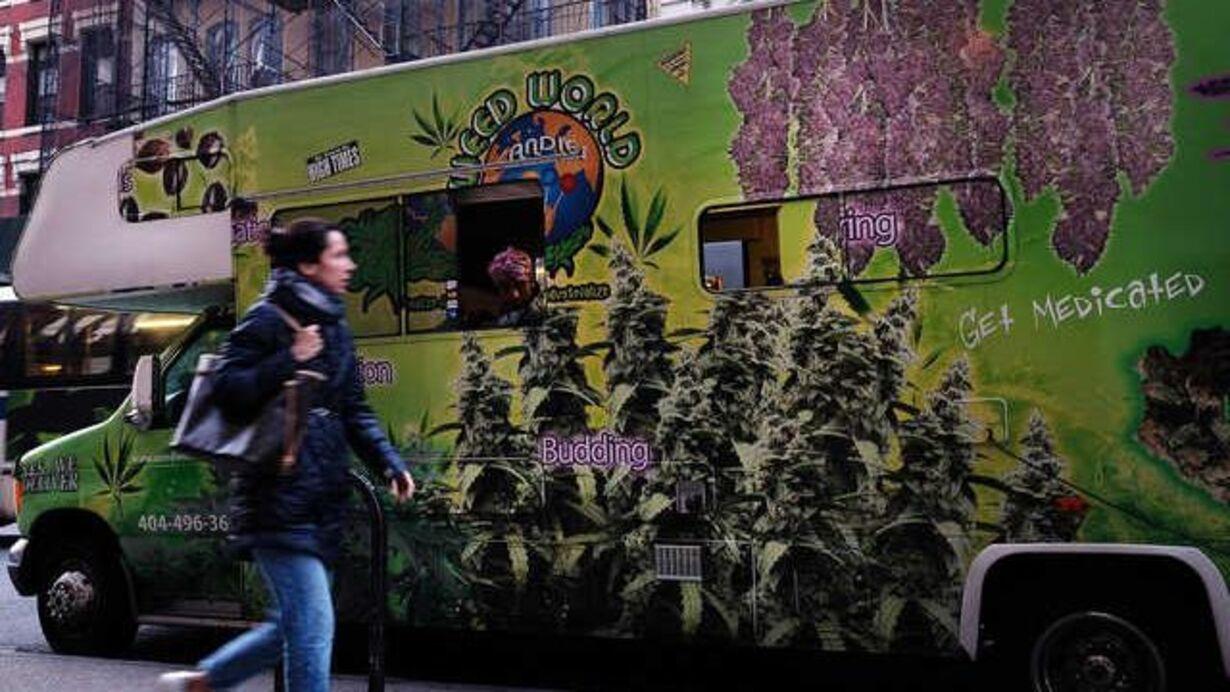tirsdag- dagens foto - marijuana slik