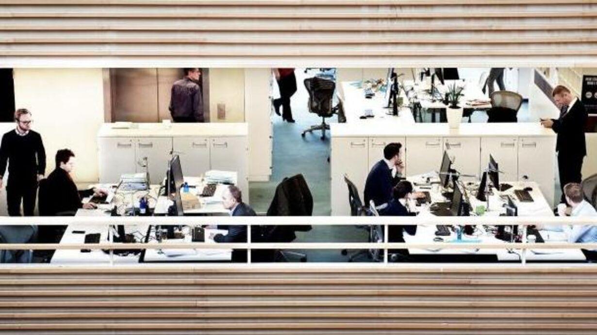 Onsdag - kontorlandskaber