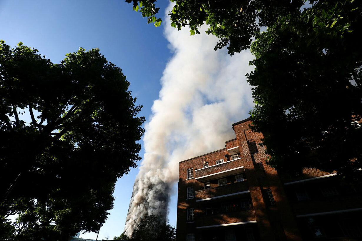 Storbrand i London